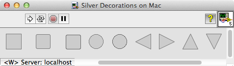 Silver Decorations Mac